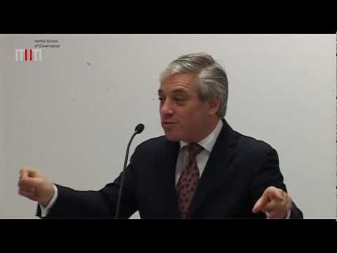 Lecture by Rt. Hon John Bercow MP, Speaker of the House of Commons