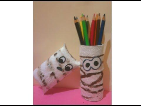 ♥ Momias Con Tubos De Papel Higiénico Preescolar (Reciclado)  ♥