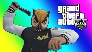 GTA 5 Online Funny Moments - Lowrider Hydraulics & Machete Battles!
