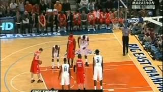 #20 Syracuse vs #4 Connecticut Big East Tournament Quarterfinal 03/12/09 (6OT) (Full Game)