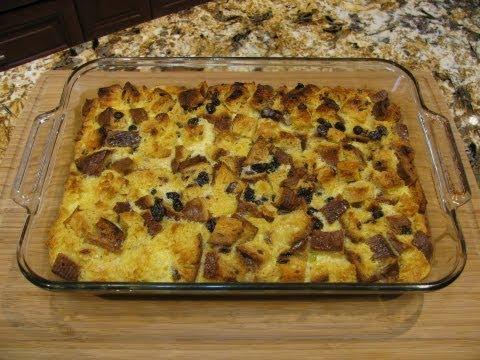 Panettone Bread Pudding Giada de Laurentiis Pudding Panettone Bread