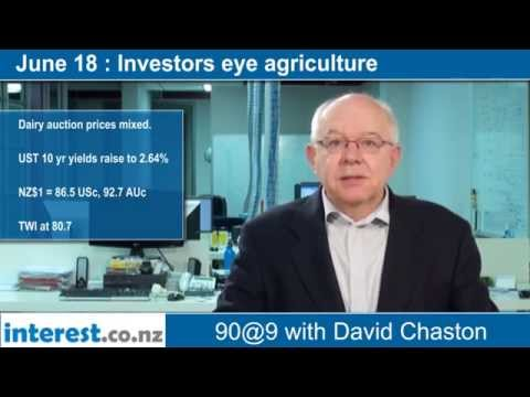 90 seconds @ 9am: Investors eye agriculture