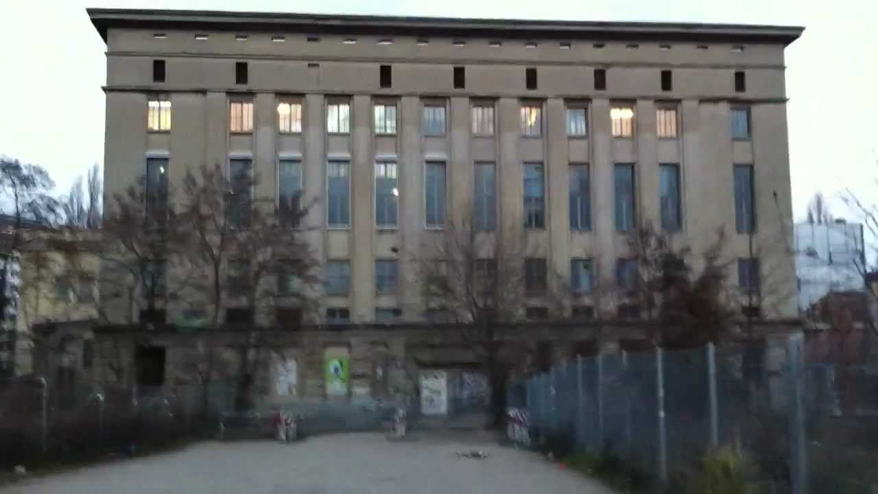 Berghain panorama bar and all the secret youtube