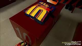 Lionel Messi jugadas/skills de 2018/2019 canción de Jiren