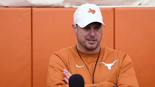 Tom Herman Media Availability [March 11, 2019]