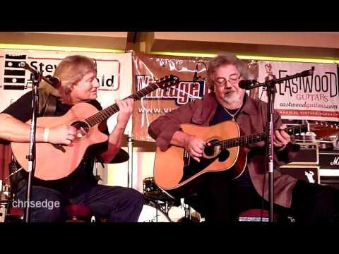 HD - Deke Dickerson Guitar Geek Festival 2011 - Brian Lonbeck&Thom Bresh - Cannonball Rag