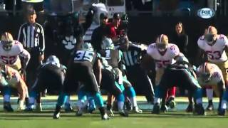 Cam Newtons EPIC Flop   Video