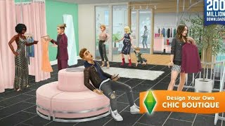 Chic Boutigue Update Trailer [The Sims freePlay]