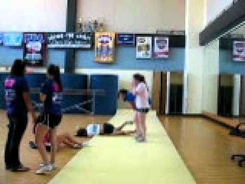 Floor Meet Body is listed (or ranked) 7 on the list The 12 Most Brutal Cheerleading FAILs
