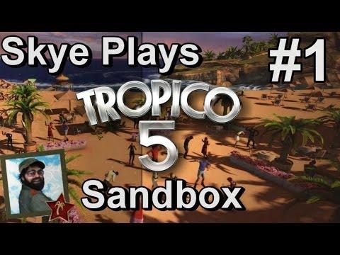 Tropico 5: Gameplay Sandbox Part 1 ►Best Starting Strategies - Colonial Era◀ Tutorial/Tips Tropico 5