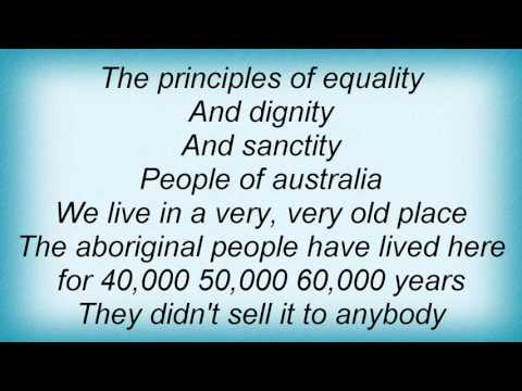 Midnight Oil - People Of Australia Lyrics