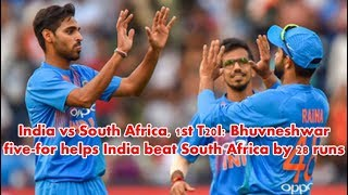india vs south africa t20 2018 – Special coverage - india vs south africa t20 highlights