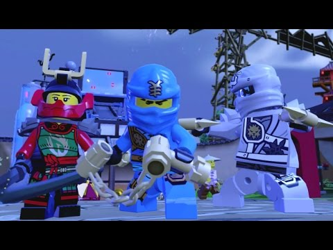 LEGO Dimensions - Ninjago Adventure World - All Quests