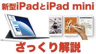 いきなりキタ!Appleの新型iPad AirとiPad miniをざっくり解説!!