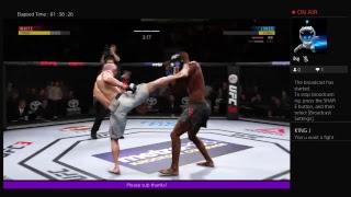 Live fight UFC 3