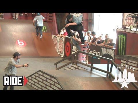 Tampa Pro 2015: Practice – Ishod Wair, Shane O'Neill, Grant Taylor – SPoT Life