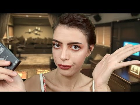 ASMR | [French Accent] 🇫🇷 Claudette Helps You Get Ready 💄
