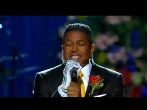 "Jermaine Jackson singing at ""Michael Jackson memorial"""