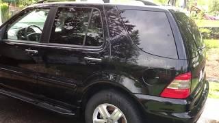 $500 Mercedes 2005 ML500 Weekend Progress update and first car wash