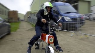 Chris Harris Vs Rory Reid: It's the Motochimp GP | Top Gear