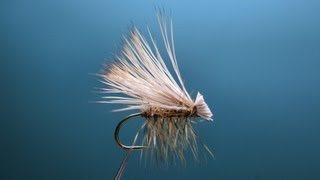 "[HD] Fly tying / High Floating Elk Hair Caddis. エルクヘアカディス フライタイイング/フライフィッシング ""FlyTier"