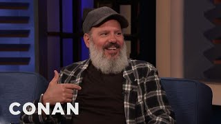 David Cross On The Perils Of Being An Older Dad - CONAN on TBS