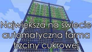 Minecraft (1.4.6 / 1.4.5) Największa na świecie automatyczna farma trzciny cukrowej by MrHitmen90