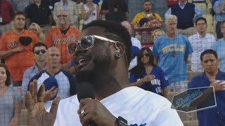 Watch T-Pain Nail the National Anthem Without Auto-Tune