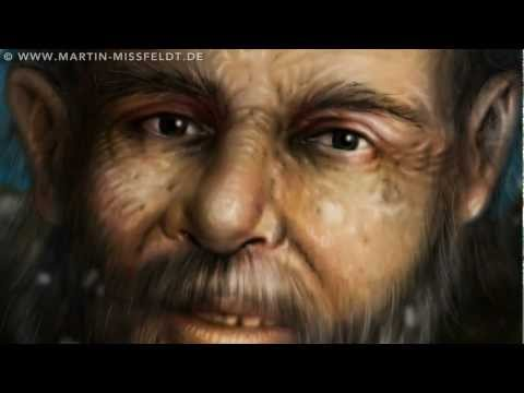Iceman Otzi - mummy face reconstruction