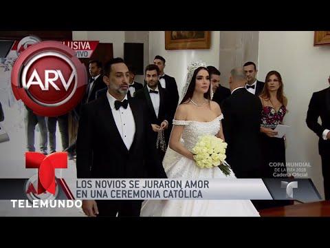 Marlene Favela y George Seely se juran amor eterno   Al Rojo Vivo   Telemundo