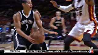 Jeremy Lin ( 16 PTS ) 2016 Preseason: Game 3 Vs Heat