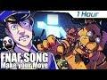 [1 Hour] FNAF ULTIMATE CUSTOM NIGHT SONG (Make Your Move) LYRIC VIDEO - Dawko & CG5