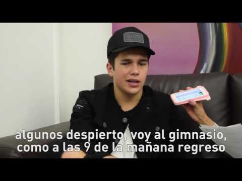 Austin Mahone en entrevista para Radio Disney México