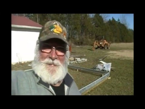 Part 4 Harbor Freight 10 X 12 Greenhouse Build and Review