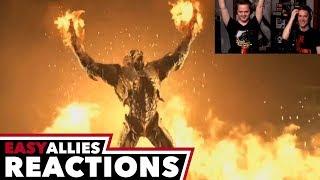 DOOM Eternal Gameplay Premiere - Easy Allies Reactions