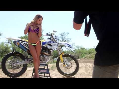 Chantel Zales Behind the Scenes Bikini