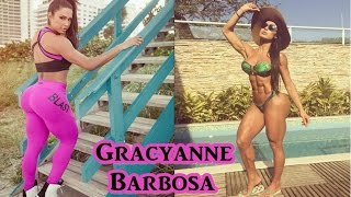 GRACYANNE BARBOSA - Sexy Fitness Model / Workouts to Sculpt and Tone your Body