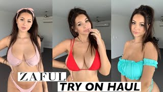 ZAFUL BIKINI TRY ON HAUL! Anna Paul
