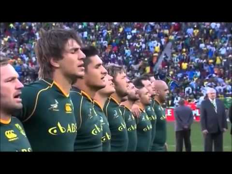 National Anthem of South Aftrica - Nkosi Sikelel iAfrika - performed...