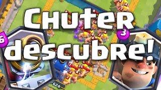 Chuter descubre al Chispitas y al Minero   Clash Royale