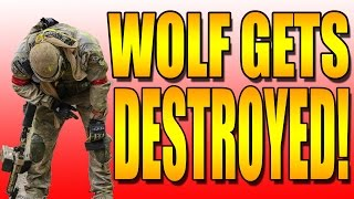 WOLF GETS LIT UP AT D DAY!