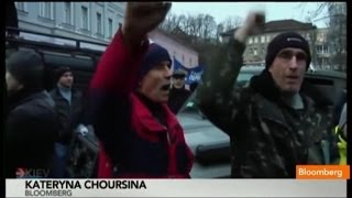 Ukraine Police Crackdown Fueled (Protestors)' Rage  12/3/13