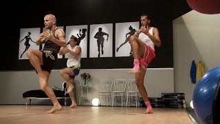 Muay Thai Cardio Training 1 With Keven Haas Fityess In Full Hd