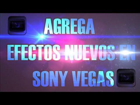Tutorial: Agregar Efectos Nuevos (Luces,Particulas,Explosiones) Sony Vegas PRO.