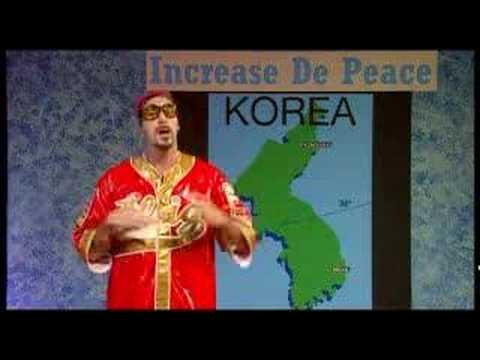 Ali G: Peace in Korea