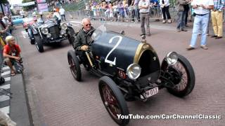 1925 Bugatti Type 13 Brescia drive by + sound!! 1080p HD
