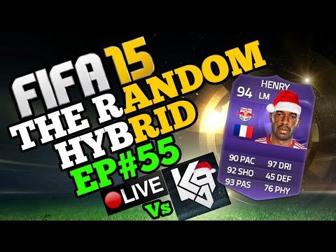 94 RATED THIERRY HENRY!! Vs Kazooie94!! The Random Hybrid - Episode 55!