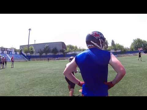 2016-07-16 Тренувальний табір. Ресивера / Діфенс