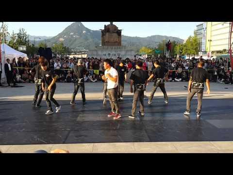 2013 Hi Seoul Festival Gamblerz Crew in Gwanghwamoon 2