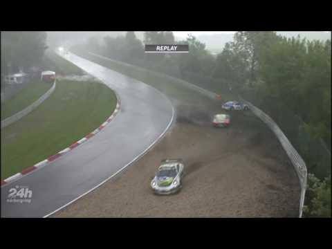 Hail, Chaos, Crash at Nordschleife   2016 24 H Nürburgring